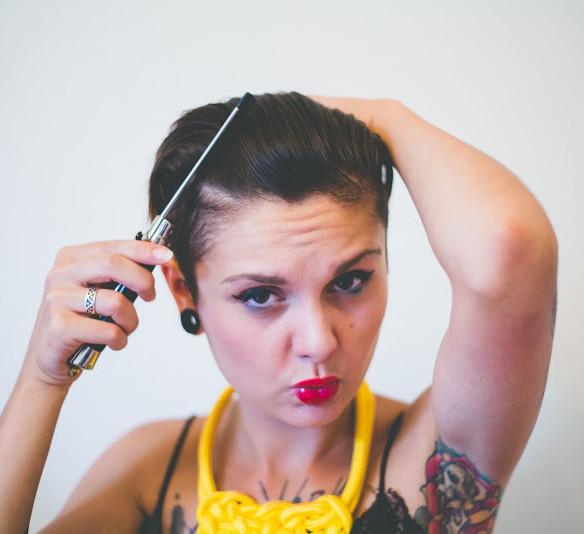 4 inspirations coiffures pour cheveux courts!