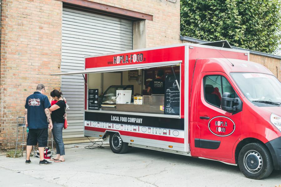 Hopla food truck Strasbourg