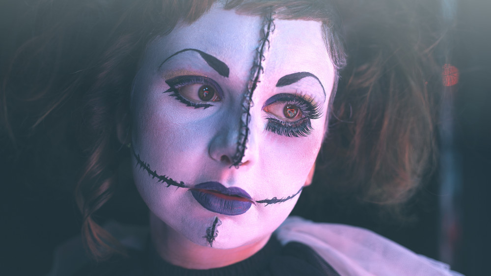 make up halloween facile effrayant