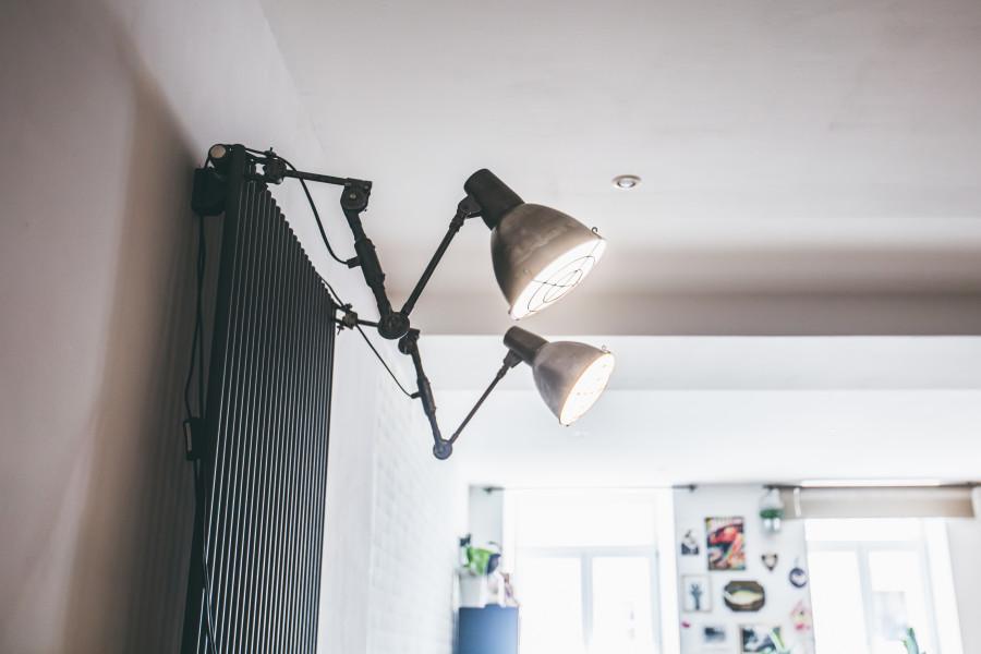 lampes industrielles décoration