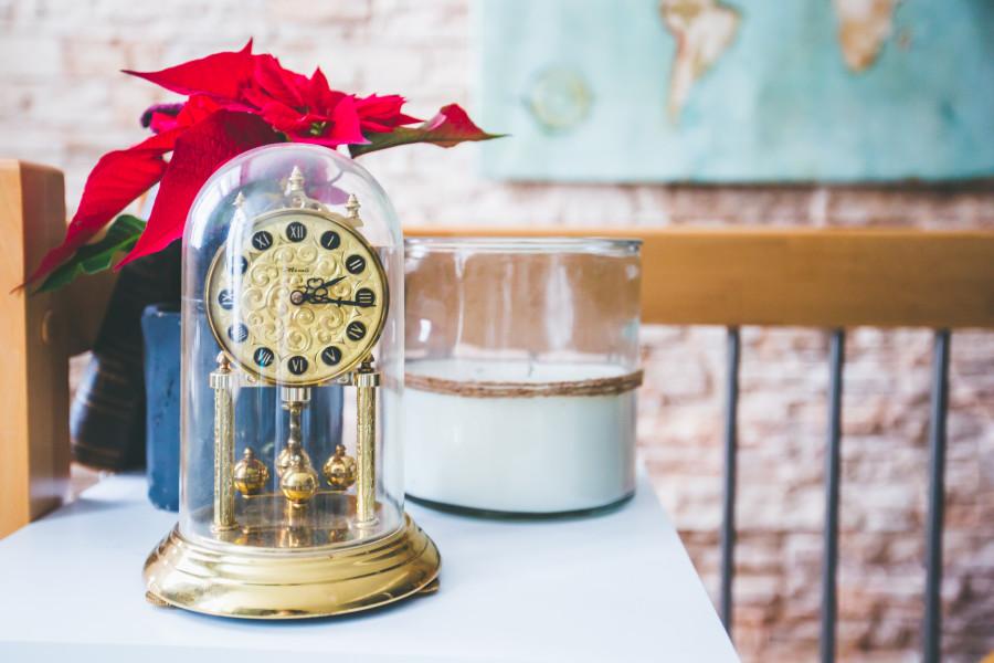horloge rétro vintage décoration