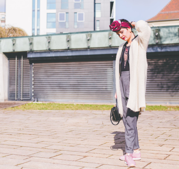 How to wear : le gilet oversize?