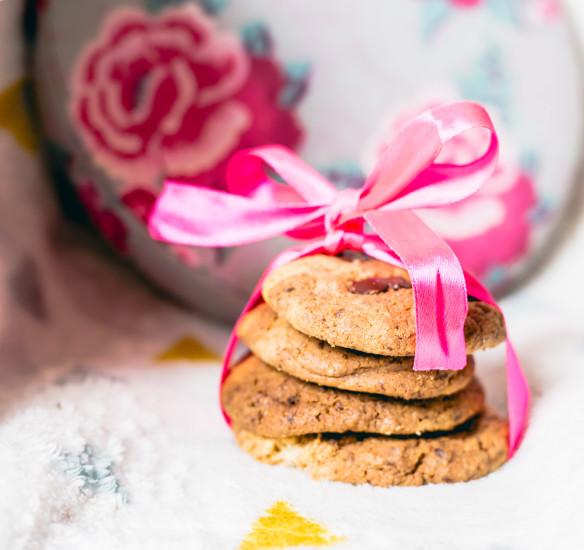 Recette : des cookies aux noix du Brésil & au chocolat noir