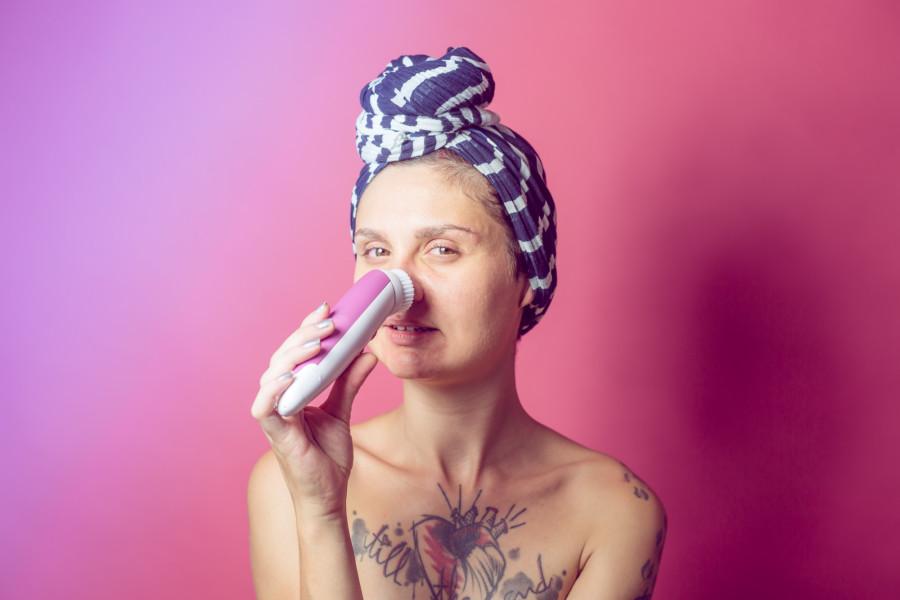 brosse electrique pour le visage