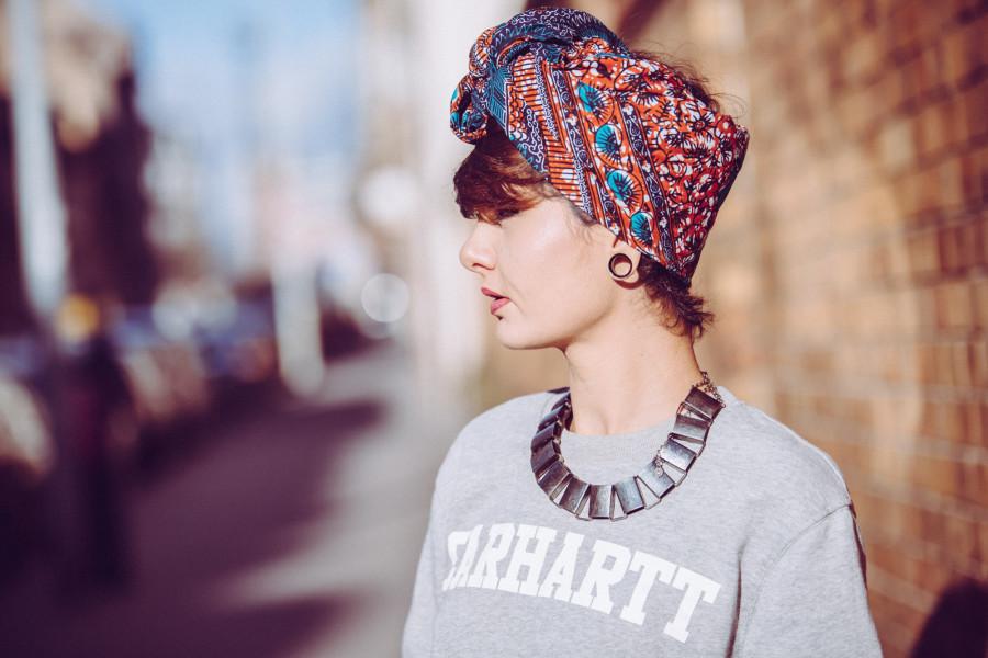 nouer turban cheveux comment tuto