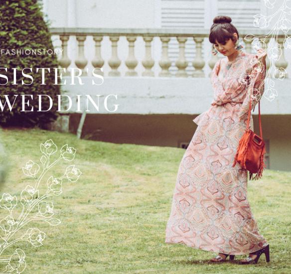 Fashion story : le mariage de ma soeur…en look Vinted !