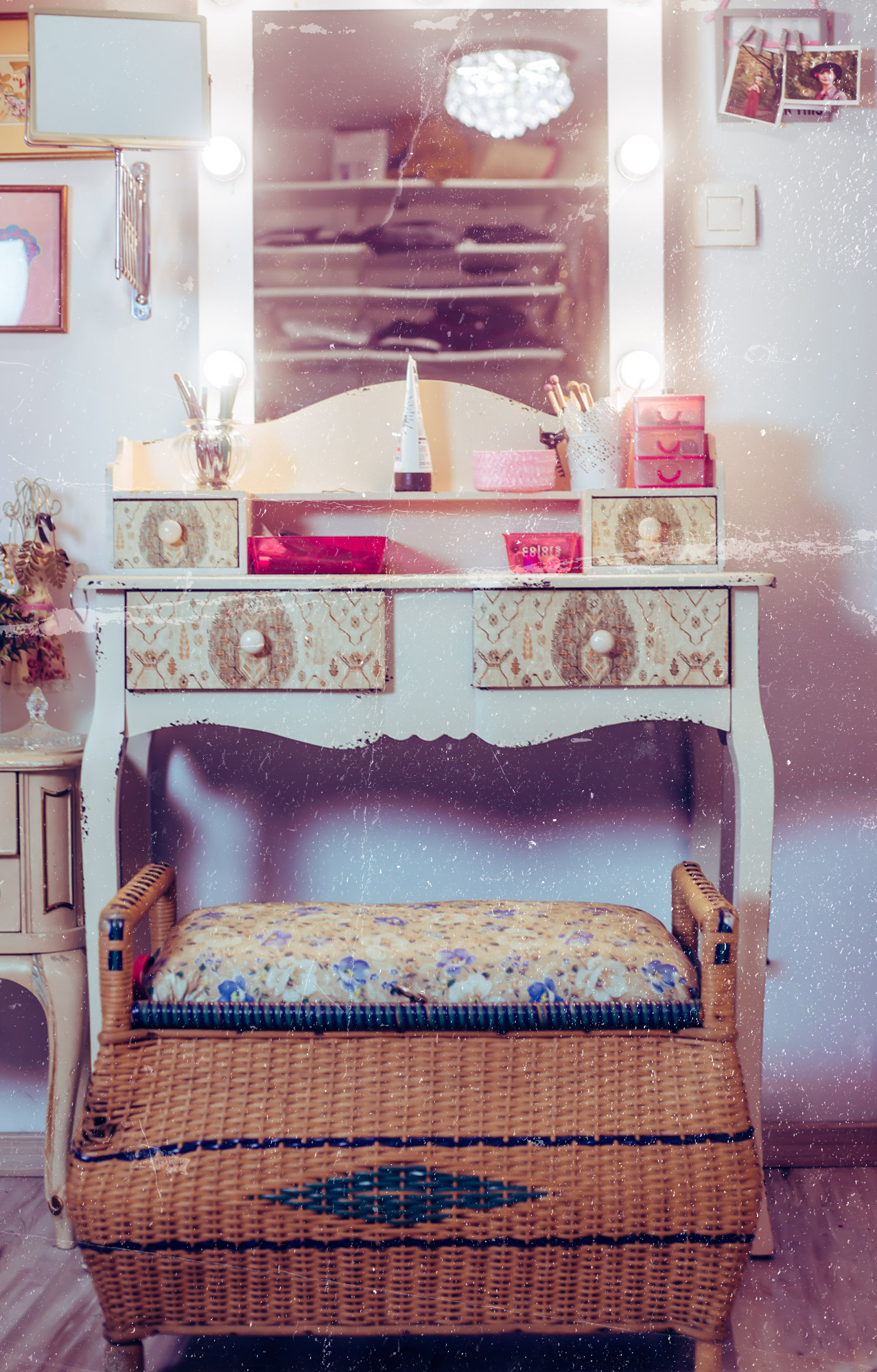 meuble vintage rangement